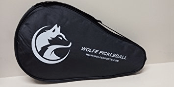 Use of The Wolfe pickle ball paddle
