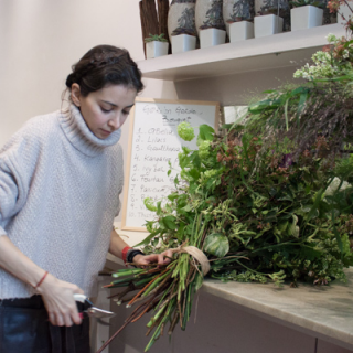 Becoming a florist in London