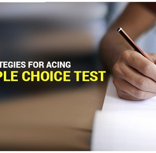 Strategies for Acing a Multiple Choice Test