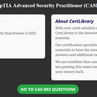 Getting Your CompTIA Advanced Security Practitioner Certification