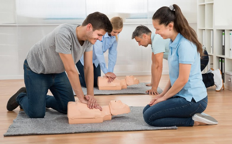 First aid training for employees